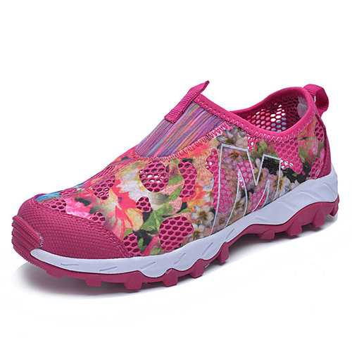 Camouflage Floral Breathable Trainers