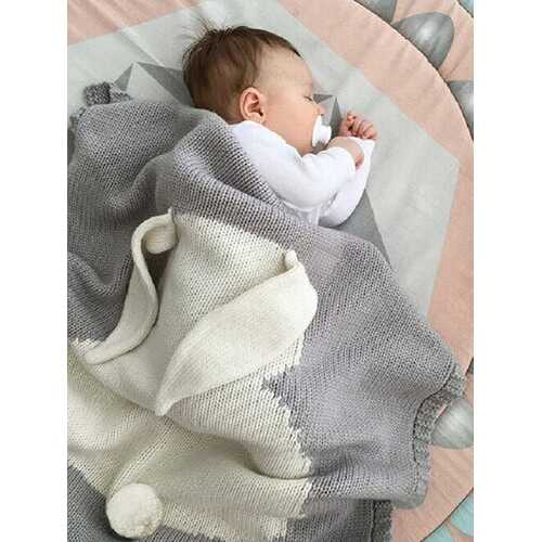 Infant Baby Bunny Napping Blanket Rabbit Bedding Towel Cover