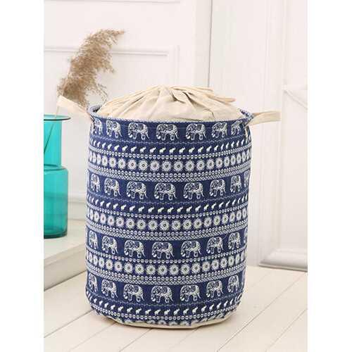 35x45cm Waterproof Durable Cloth Storage Basket