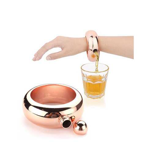 3.5Oz Bangle Bracelet Hip Flask