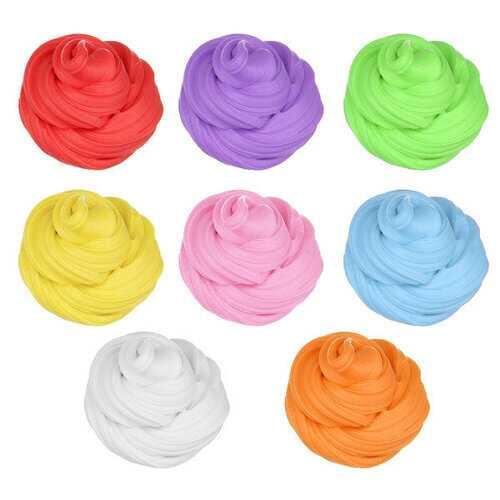 Candyfloss Fluffy Floam Slime Clay