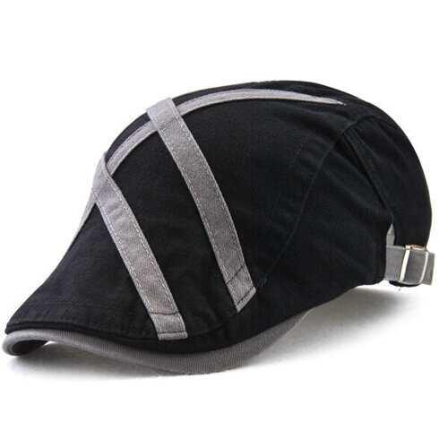 Breathable Cotton Beret Cap Adjustable Windproof Warm Hats