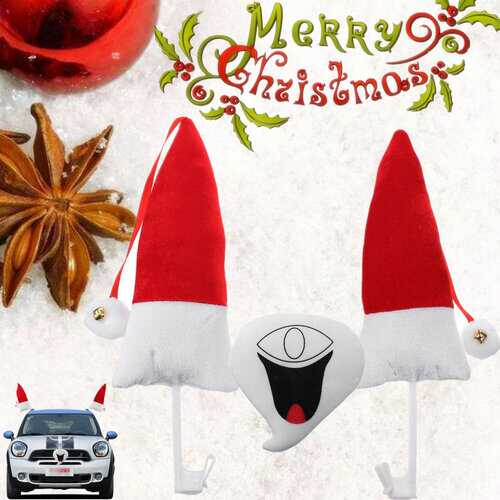 Christmas Smiling Snowman Style Car Vehicle Costume