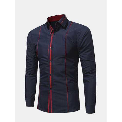 2 Color Slim Fit Work Shirt