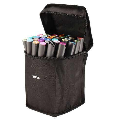 36pcs Color Twin Tip Marker Pen
