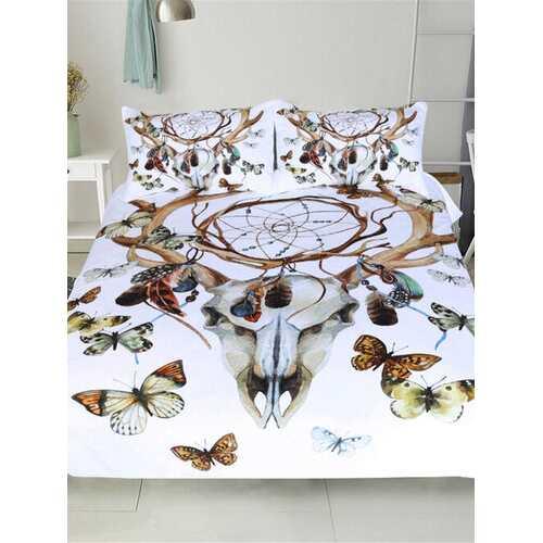 3 pcs/set Dream Catcher Bedding Set Bohemian Print Duvet Cover Set With Pillowcase