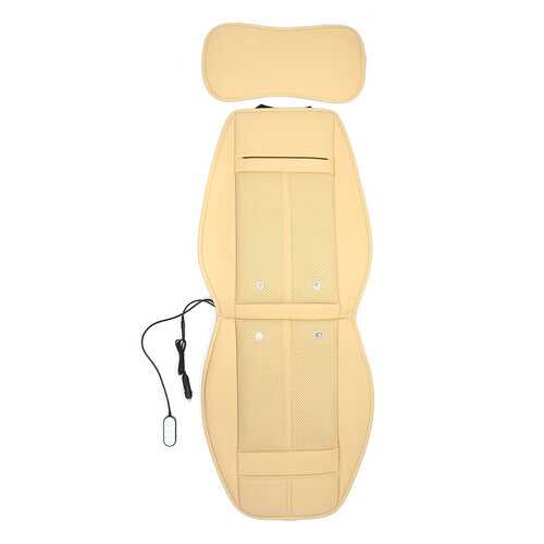 3 In 1 Leather Car Cooling Warm Heated Massage Chair Seat