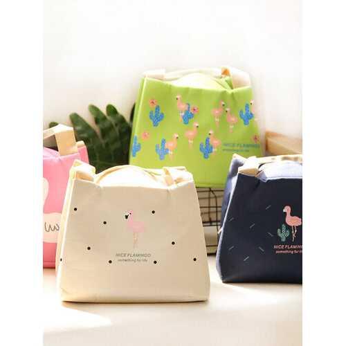 Flamingo Insulation Lunch Box Bag