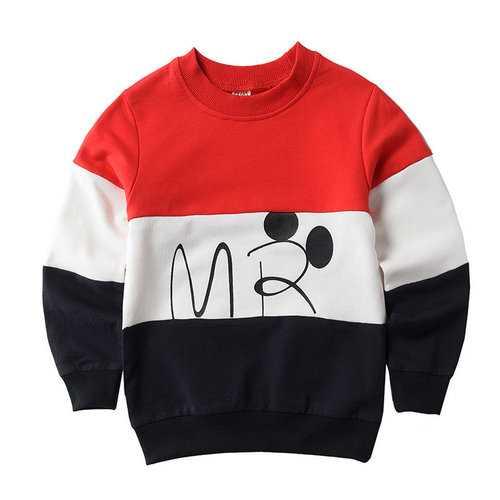 Boys Sweatshirt Cotton T Shirt