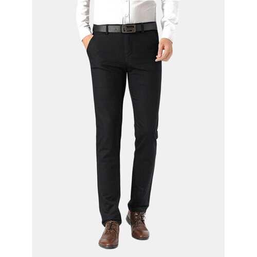 Straight Business Casaul Suit Pants