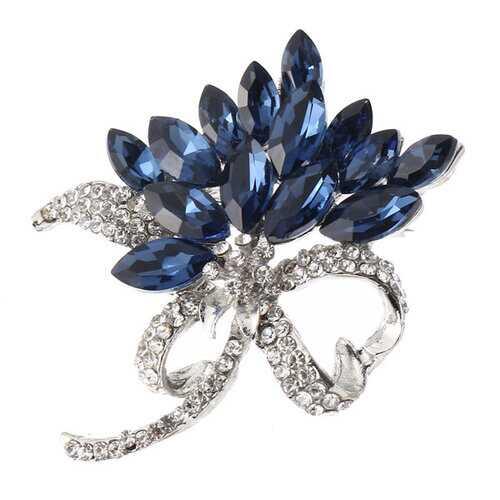 Bauhinia Crystal Brooch Gift