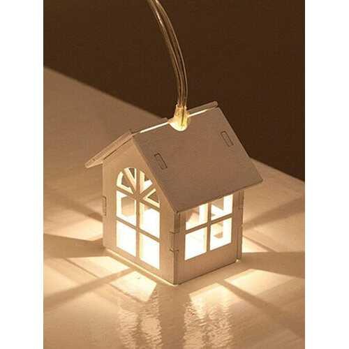 1.5M 10Lamp LED Fairy Lights Warm White Light