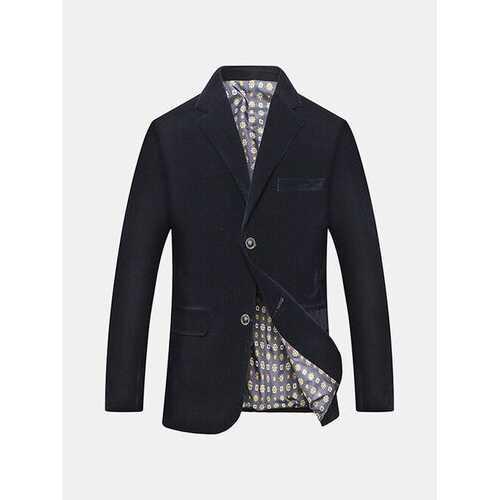Corduroy Solid Color Suit