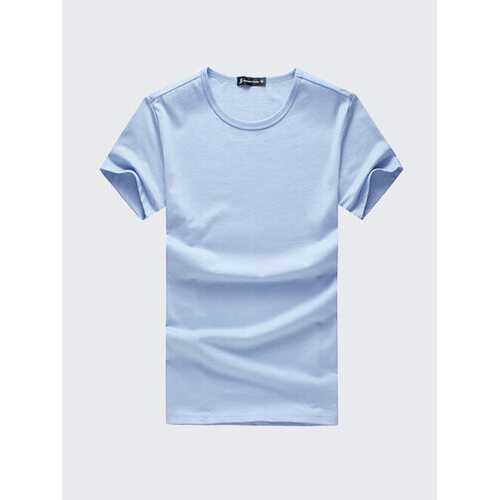 100%Cotton Breathable Basic T shirt