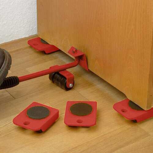 5Pcs Furniture Movers Lifter Transport Tool