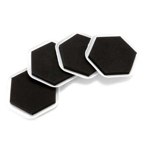 4Pcs Furniture Moving Sliders Mover Pads Moving