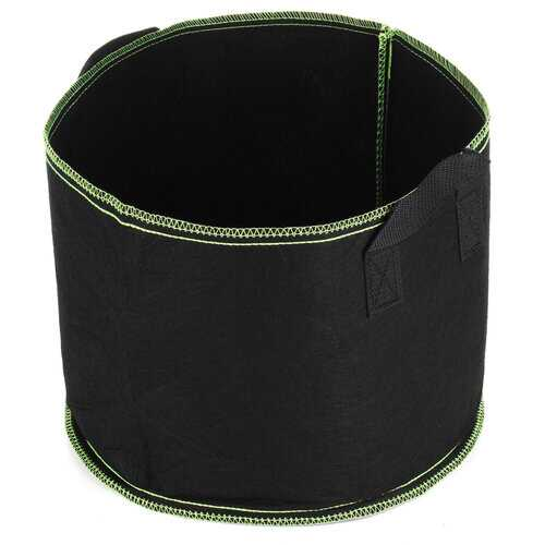 Black Fabric Planter Container Bags