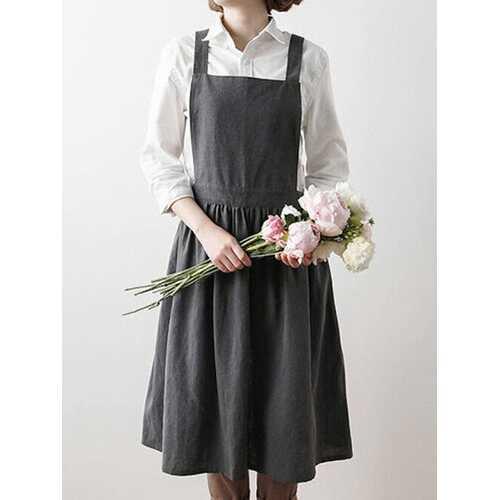 Scandinavian Pleated Skirt Aprons