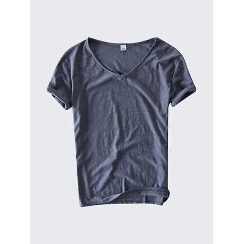 Summer Thin Breathable Cotton T-shirts