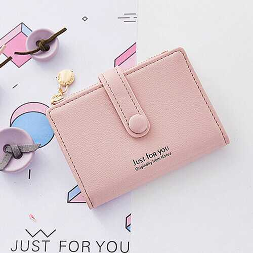 Candy Color Student Small Short Wallet