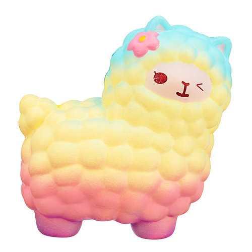 Jumbo Sheep Squishy Toy