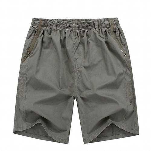 100%Cotton Breathable Elastic Waist Shorts