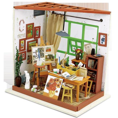 Art House Miniature Wooden Doll House