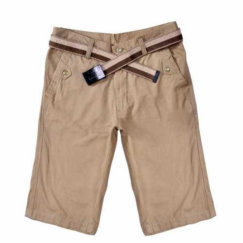 100%Cotton Breathable Knee Length Shorts