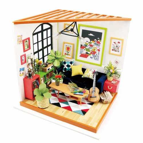 Free Time DIY Miniature Doll House