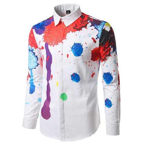 3D Printing Ink Splash Shirts