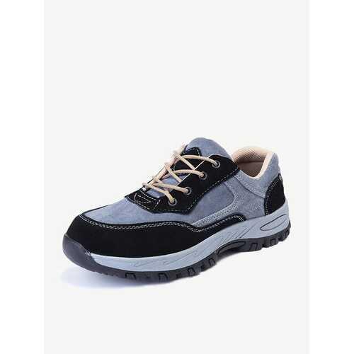 Men Steel Toe Safety Work Shoes