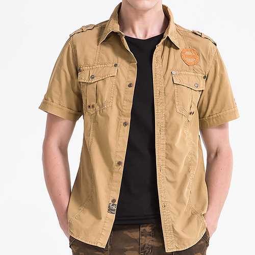Military Style Work Shirts