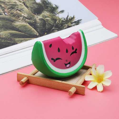 Mini Smile Watermelon Fruit Squishy Toy