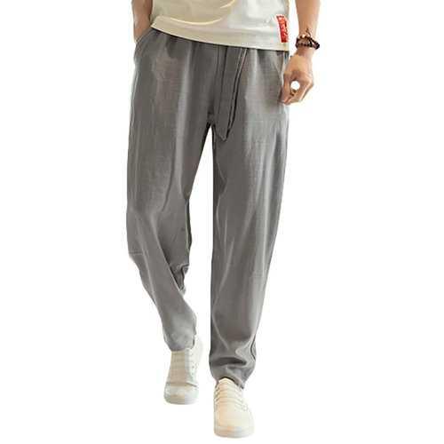 100%Cotton Breathable Loose Pants