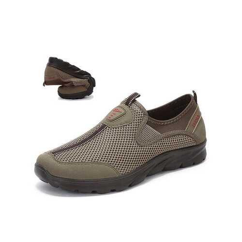 Large Size Men Running Walking Sneakers