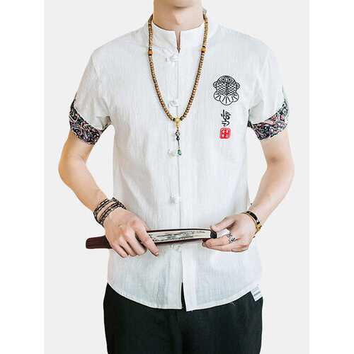 Embroidered Slim Fit Shirt