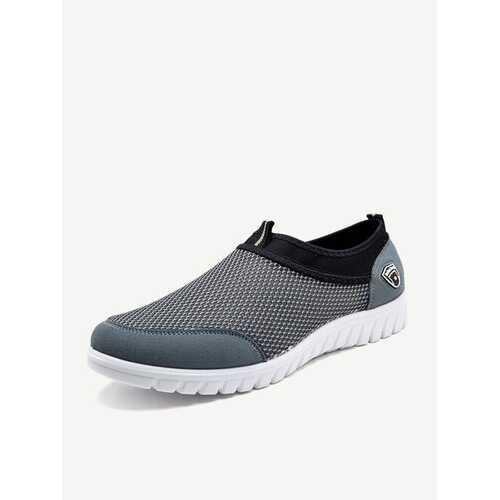 Large Size Men Mesh Casual Running Sneakers