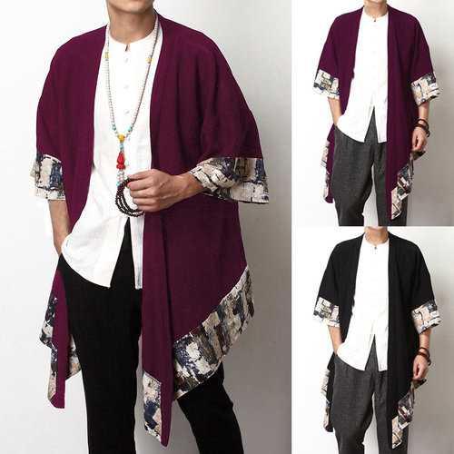 Ethnic Design Linen Shawl