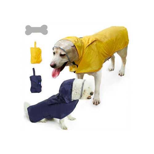 2 Colors Pet Dog Waterproof Raincoat