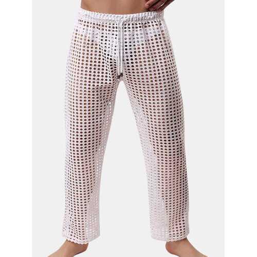 Hollow Mesh Transparent Pajamas