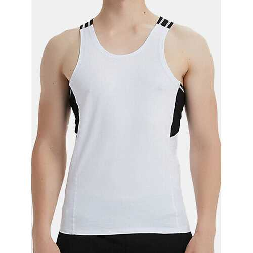 100% Cotton Breathable Workout Tank Tops