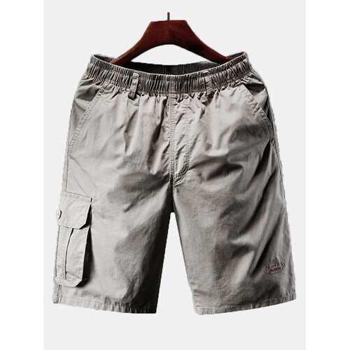 100% Cotton Plus Size Loose Shorts