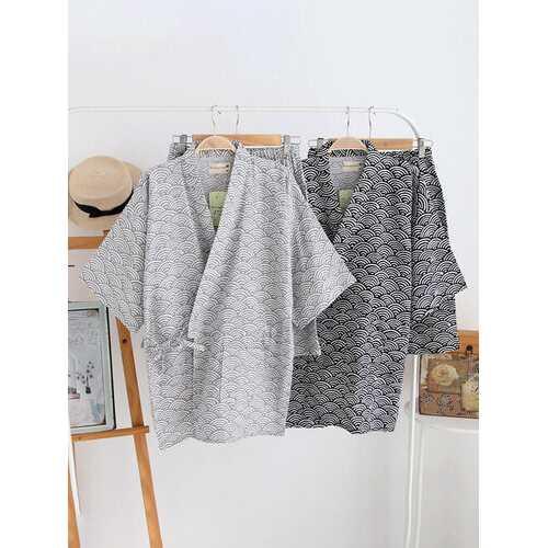 Japanese Kimono Soft Sleepwear Set