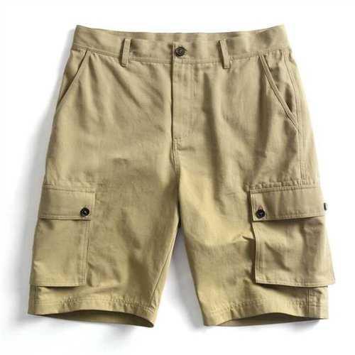 100% Cotton Multi-pocket Cargo Shorts