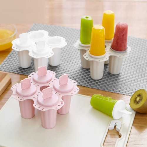 Home-made Ice Cubes Popsicle Ice Cream Mold
