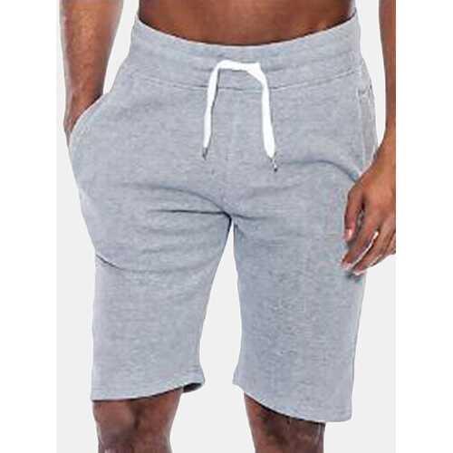 Bodybuilding Elastic Waist Sport Shorts