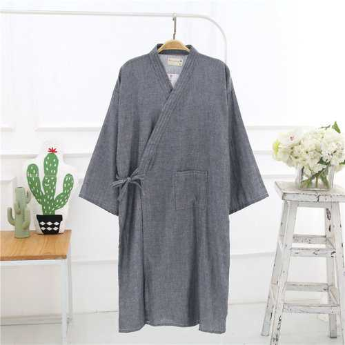 Japanese Double Gauze Home Sleep Robes