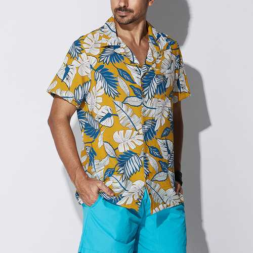11 Colors Comfortable Beach Shirts