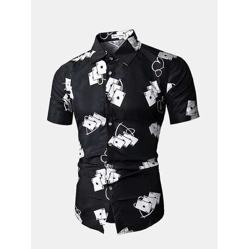 3D Pokers Printing Designer Shirts