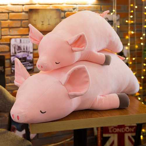 Cute Pink Pig Pillow Plush Toy